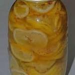 маринованные лимоны - большие