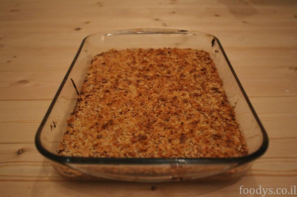 Басбуса - кокосово-манный пирог