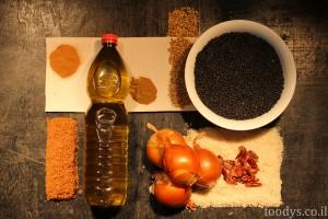 Маджадра - ингредиенты
