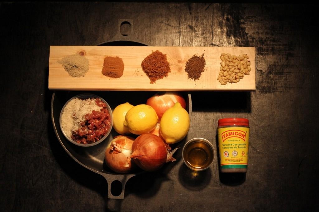 Ингредиенты для хашу и для махши басаль