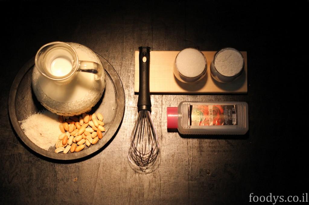 Ингредиенты для рецепта Махалабии