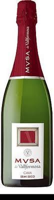 Испанское вино: MVSA Полу-сухое Кава Вальформоса Пенедес Испания