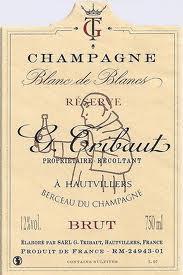 Блан де Блан Брют Трибо Шампань Шампанское Франция