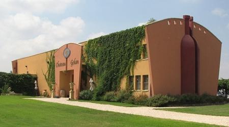 Израильское вино: Винодельня Шато Голан - Здание