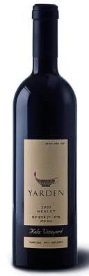 Израильские вина: Мерло Кела 2006 Ярден Рамат Хаголан Израиль