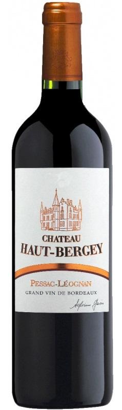 Французское вино, Chateau Haut-Bergey, 2008, Pessac-Leognan, Бордо, Франция