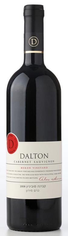 Израильское вино: Каберне совиньон, Керем Мерон, Дальтон, Верхняя Галилея, Израиль