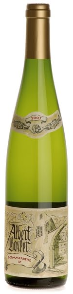 Французские вина: Рислинг, Сомерзберг, Гранд Кру, Альберт Бокслер, Эльзас, Франция