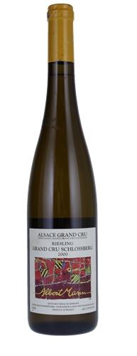 Французские вина: Рислинг, Гранд Кру, Шлоссберг, Альберт Манн, Эльзас, Франция