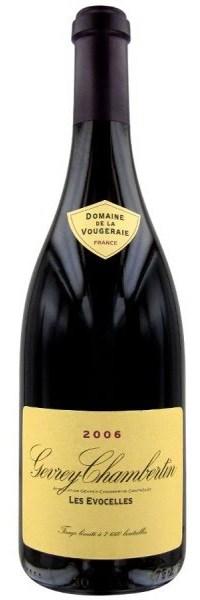 Французские вина: Жевре Шамбертан, Ле Евосель, Домейн де ла Вожре, Бургундия, Франция