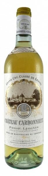 Французские вина: Шато Карбоньё, Блан, Гран Кру Классе де Грав, Пессак-Леоньян, Бордо, Франция