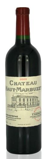 Французские вина: Шато О-Марбузе, Крю Буржуа, Сан-Естеф, Бордо, Франция