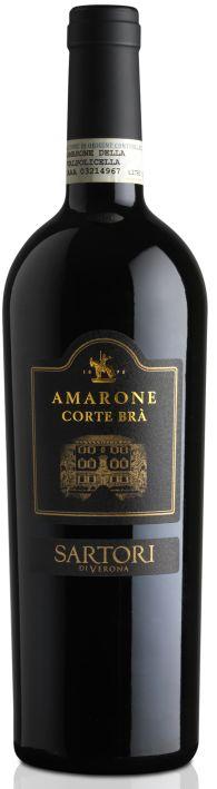 Итальянские вина: Корте Бра, Амароне делла Вальполичелла Классико, Сартори, Венето, Италия