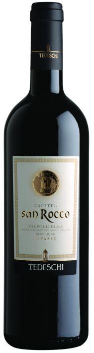 Итальянские вина: Капитель сан Рокко, Рипассо, Вальполичелла, Тедески, Венето, Италия