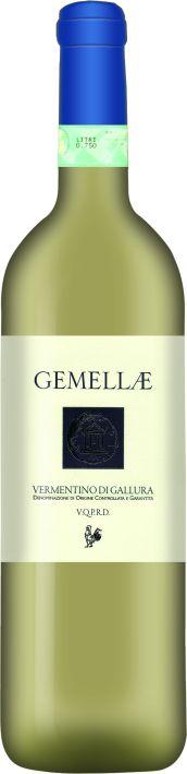 Итальянские вина: Гемаллае, Верментино ди Галура, Кантина Галура, Сардиния, Италия