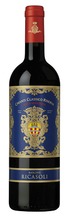 Итальянские вина: Рокка Гуичиарда, Киянти Классико Ризерва, Барон Рикасоли, Тоскана, Италия