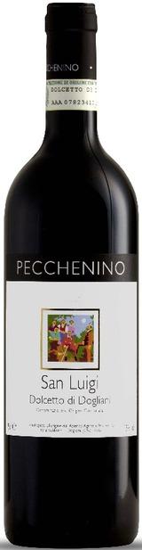 Итальянские вина: Сан Луиджи, Дольчетто ди Долиани, Пекнино, Пьемонте, Италия