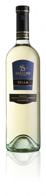 Итальянские вина: Селла, Соаве Классико, Сартори, Соаве, Венето, Италия