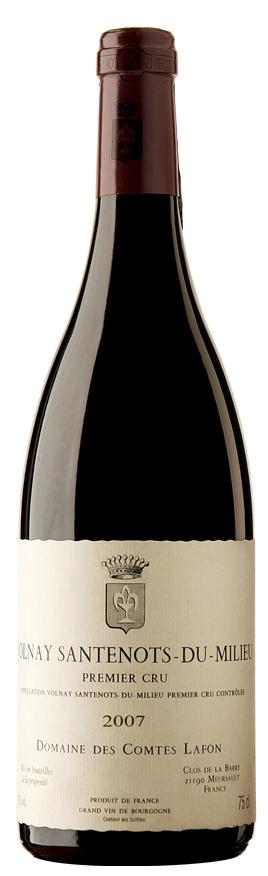 Французские вина: Сантено-ду-Мийё, Волнэ, Комт Лафон, Бургундия, Франция
