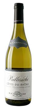 Французские вина: Беларуш Блан, М.Чапотье, Долина Руаны, Франция