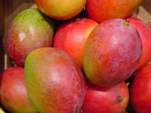 Спелое манго - идеально для этого рецепта