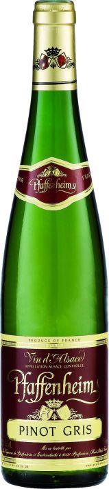 Французские вина: Пино Гри, Пфафенхайм. Эльзас, Франция