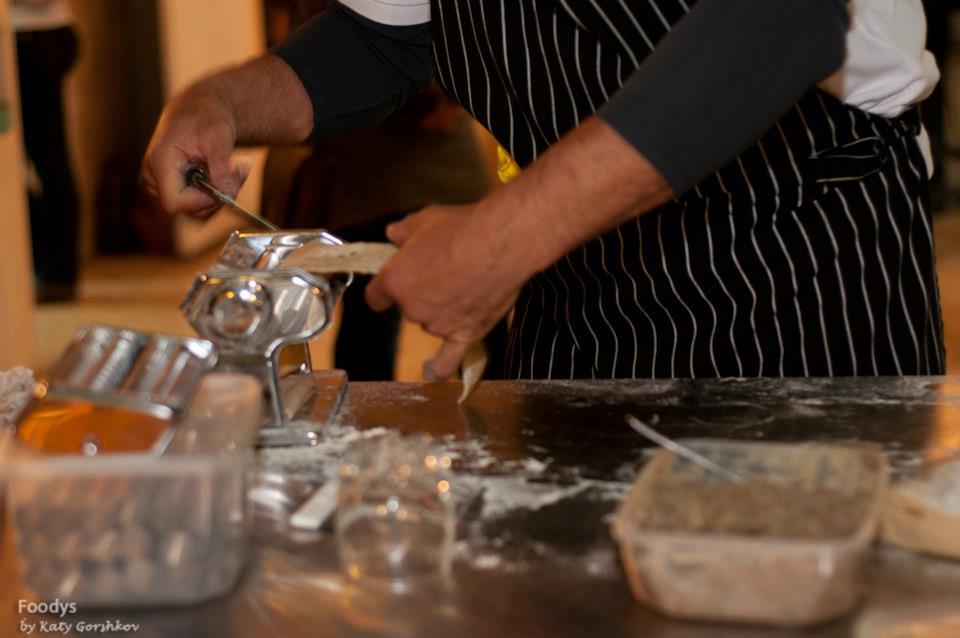 Самая простая машинка для приготовления пасты