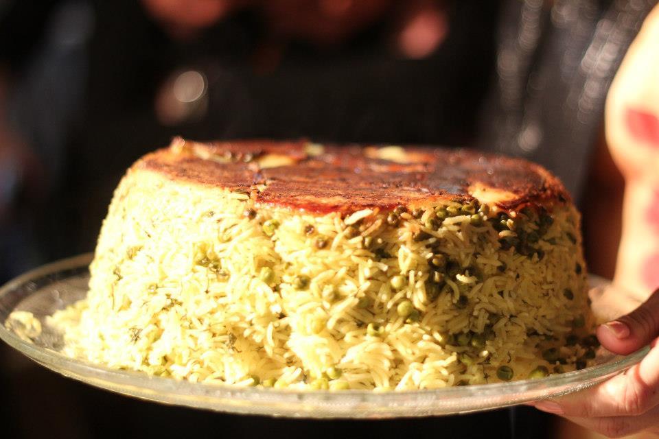 Персидский рис- не так сложно как кажется