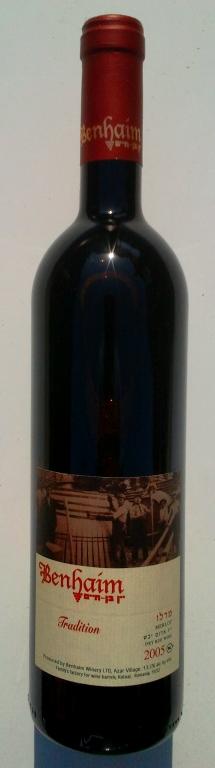 Израильское вино, Мерло, Традишен, Бенхаим, Кошерное, Верхняя Галилея, Израиль