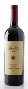 Израильское вино, Мальбек, Барбера, 2009, Дада, Верхняя Галилея, Израиль