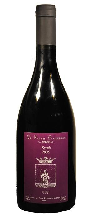Израильское вино, Сира, 2009,Ла Терра Промесса, Иудейские горы, Израиль
