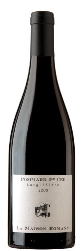 Французское вино, Поммар, Премье Кру, Ларжилье, Ла Мезон Романэ, Бургундия, Франция