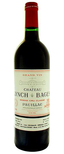 Французские вина, Шато Линч Баж, 1990, 5 гран крю классе, Пойяк, Бордо, Франция