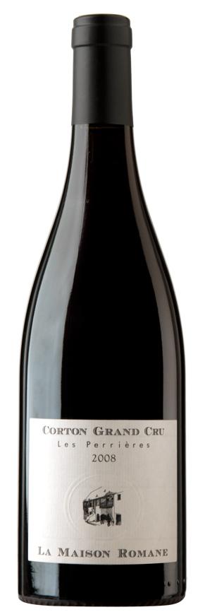 Французское вино, Кортон, Гран Кру, 2008, Ле Перьер, Ла Мезон Романэ, Бургундия, Франция