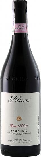 Итальянские вина, Pelissero, Barbaresco, DOCG, Vanotu, 2005, Пьемонте, Италия