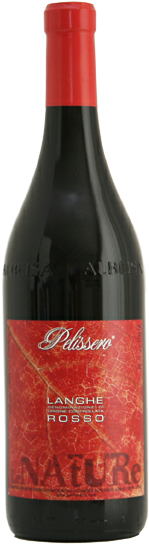 Итальянское вино, Vino Rosso, 2010, La Nature, Langhe DOC, Pelissero, Пьемонте, Италия