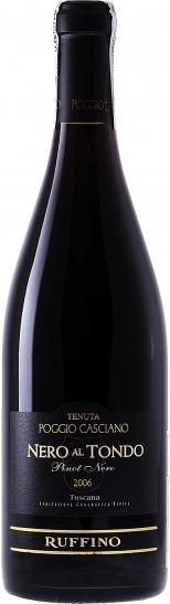 Итальянское вино, Nero al Tondo,  2001, Tenuta Poggio Casciano, Ruffino, IGT, Тоскана, Италия