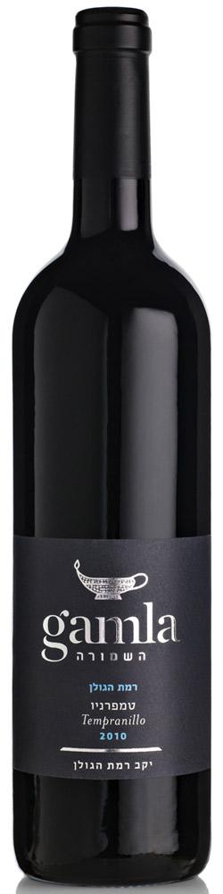 Израильское вино, Кошерное, Темпранийо, 2010, Гамла, Хашмура, Рамат Хаголан, Голанские высоты, Израиль