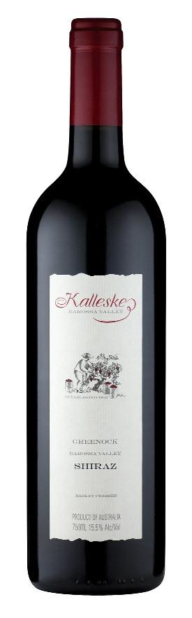Австралийские вина, Гринок, 2006, Шираз, Каллеске, Баросса, Австралия