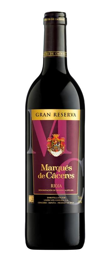 Испанское вино, Gran Reserva, 2004, Marques de Caceres, Рьоха, Испания