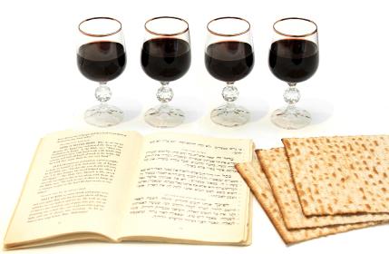 Седер Песах -  как минимум 4 бокала на человека