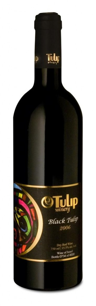 Израильское вино, Black Tulip, 2008, Tulip Winery, Israeli Blend, Израиль