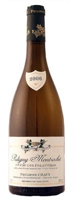 Французское вино, Puligny-Montrachet, Premier Cru, Folatieres, 2010, Domaine Philippe Chavy, Бургундия, Франция