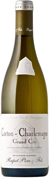 Французское вино, Corton-Charlemagne, 2010, Grand Cru, Domaine Roland Rapet, Бургундия, Франция
