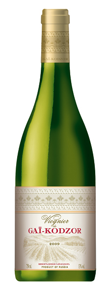 Российское вино, Viognier, 2011, Gai Kodzor, Краснодарский край, Россия