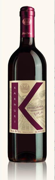 Грузинское вино, Хванчкара, Khvanchkhara. 2005, Kakhuri, Рачи, Кахетия, Грузия