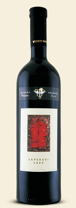 Грузинское вино,Saperavi, 2009, Premium Gold, Khareba, Кахетия, Грузия