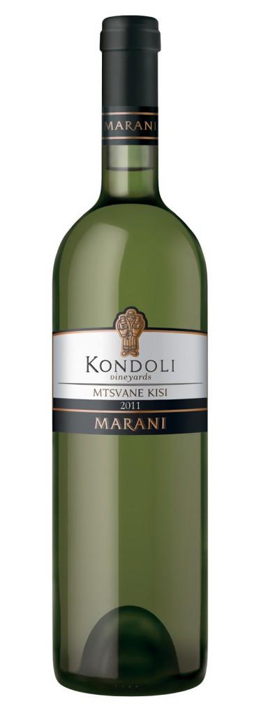 Грузинские вина, Mtsvane Kisi, 2011, Kondoli Vineyards, Marani, Кахетия, Грузия