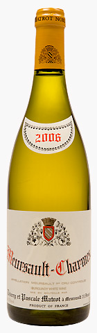 Французское вино, Meursault, Charmes, 1er cru, 2010, Domaine Thierry et Pascale Matrot, Бургундия, Франция