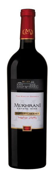 Грузинское вино, Saperavi-Cabernet, 2008, Chateau Mukhrani, Кахетия, Грузия